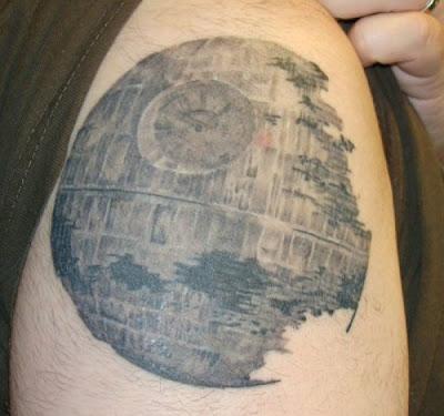 Tatuagem da Estrela da Morte
