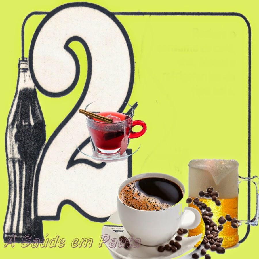 Contra a azia, evite alimentos com cafeína:  café, chá, álcool e refrigerantes tipo cola