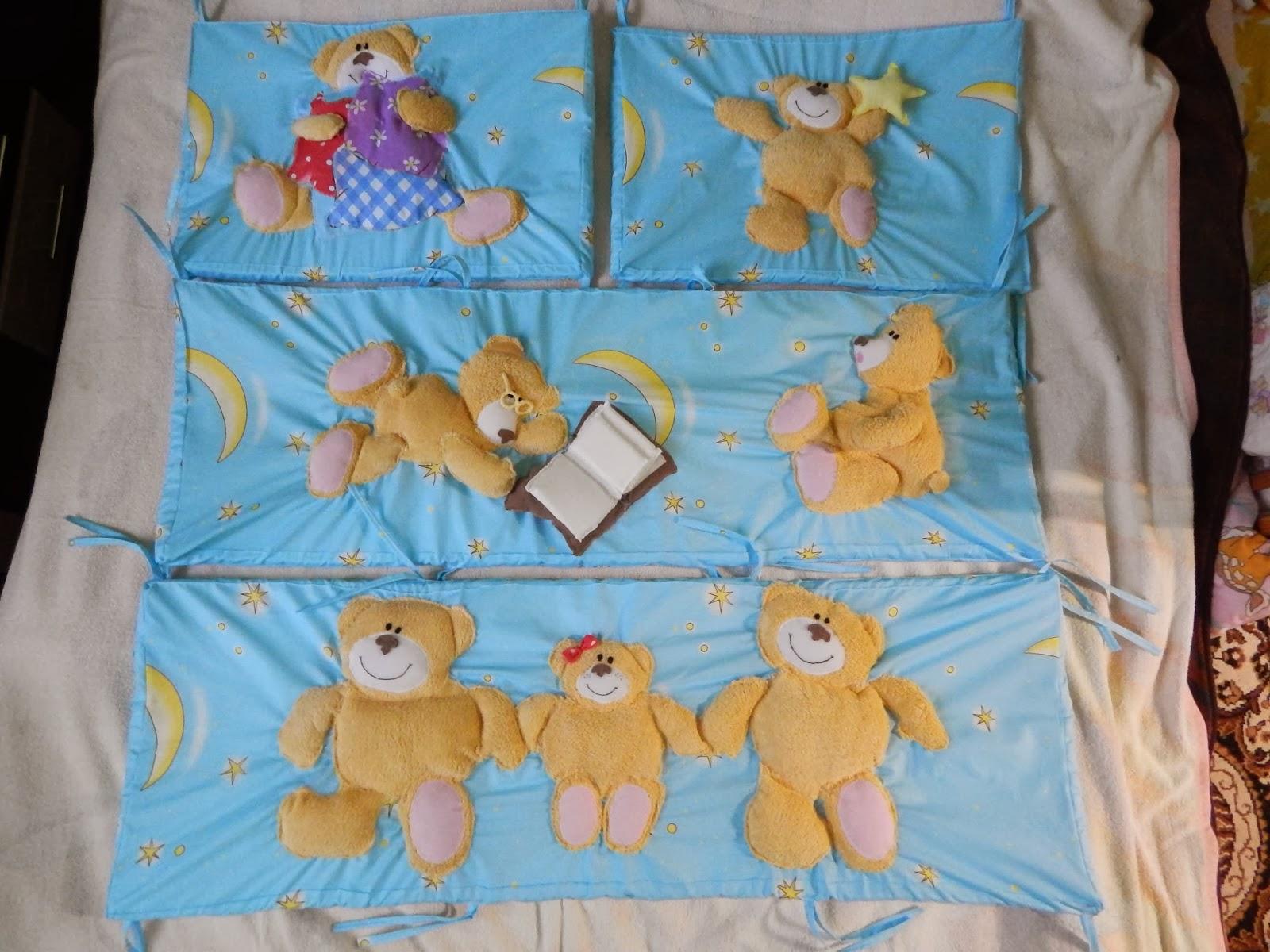 Как сшить постельное белье в детскую кроватку своими руками 77