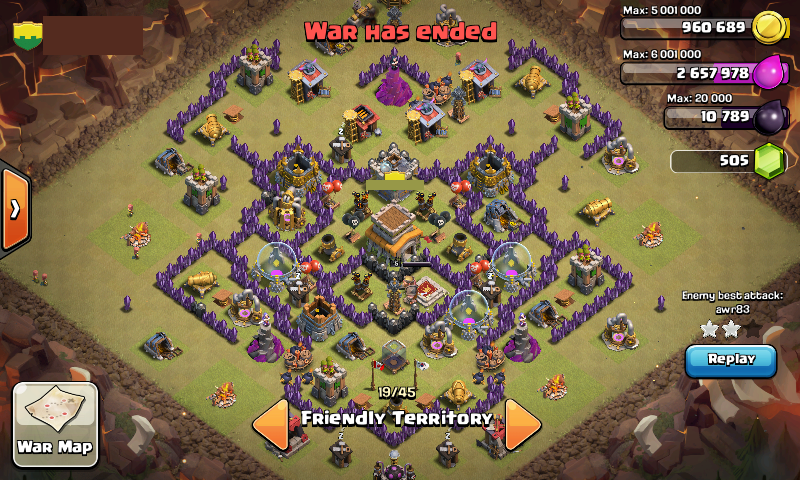 Galihghungs blog clash of clans town hall 8 war base quot anti dragon