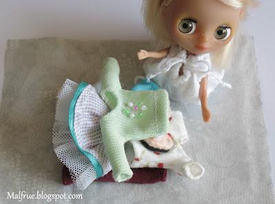 ubranka dla Little Pullip