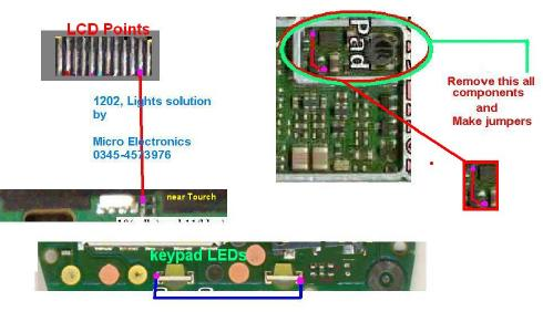 nokia 1202 network ways nokia 1202 lcd lights without any parts