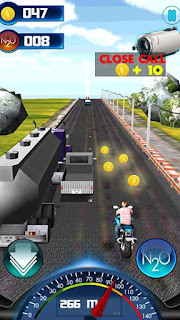 Screenshots of the Ultimate racing moto GP for Android tablet, phone.