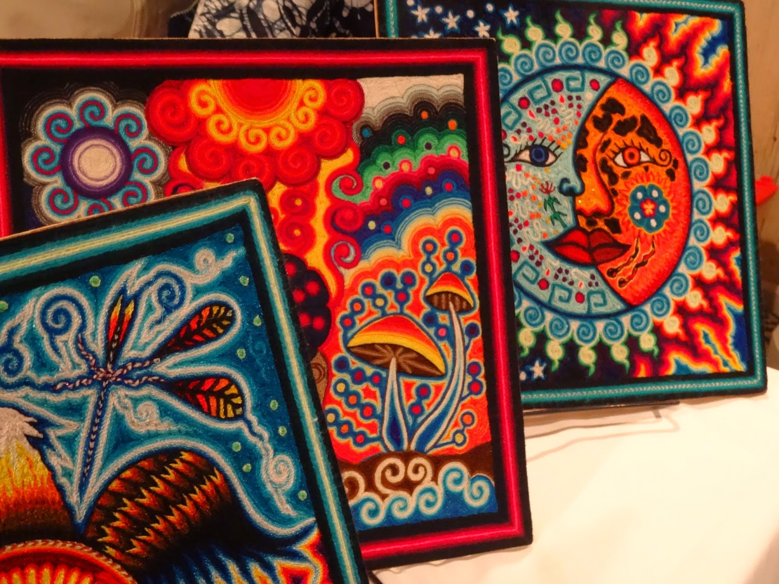 Design Yarn Art theres a dragon in my art room yarn painting huichol style for kids kids