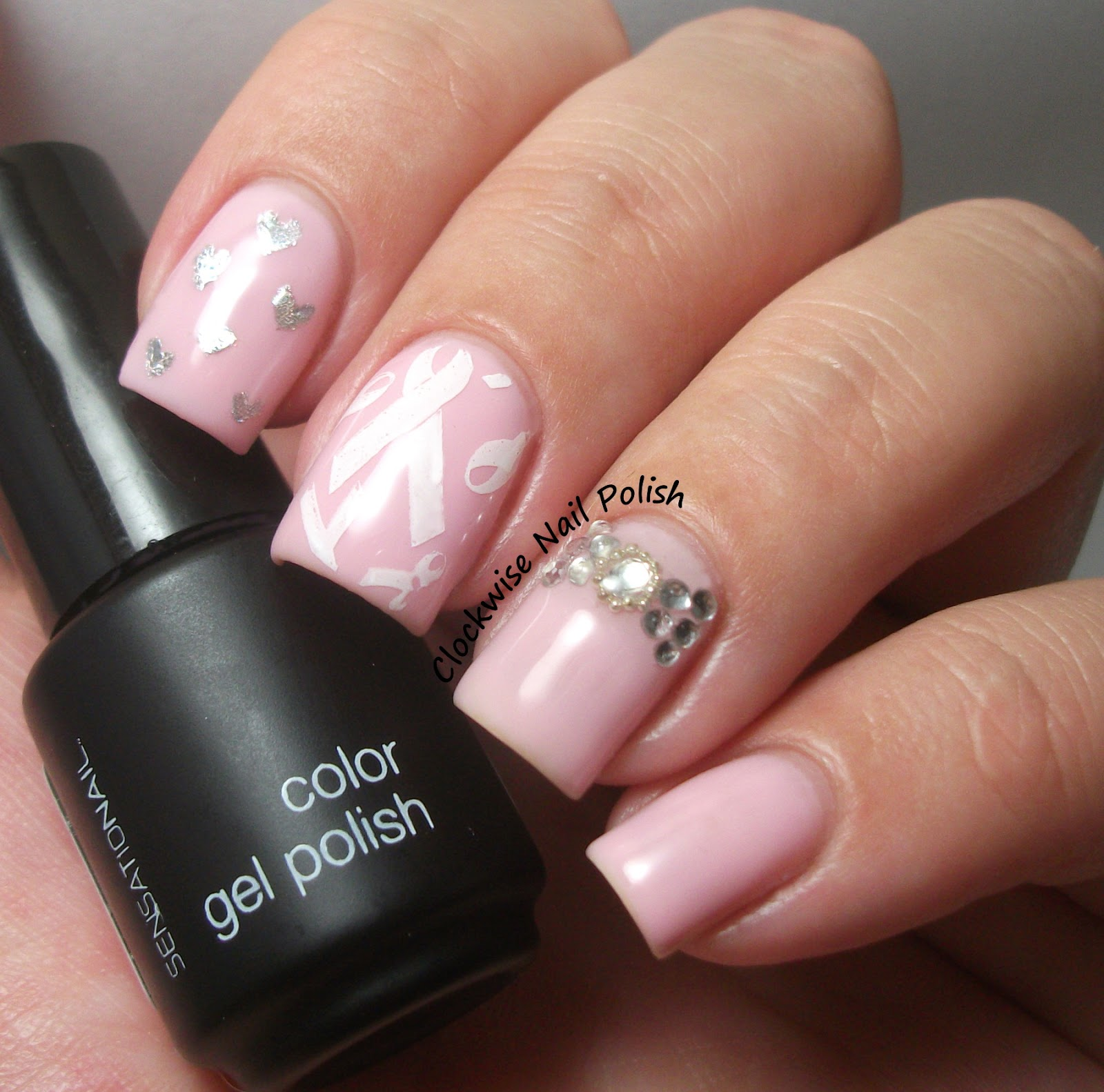 Pink nail designs for breast cancer nail art gallery breast cancer awareness nail art photos prinsesfo Images