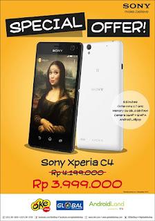 Sony Xperia C4 Harga Spesial Rp 3.999.000