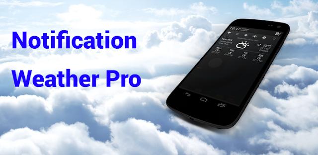 Notification Weather Pro v1.0.2 APK