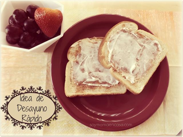 idea desayuno rapido breakfast