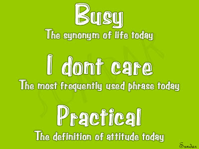 busy life??
