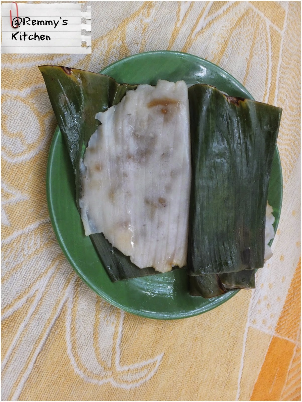 Ela ada / Ilayada /Steamed rice cake in banana leaf wrap