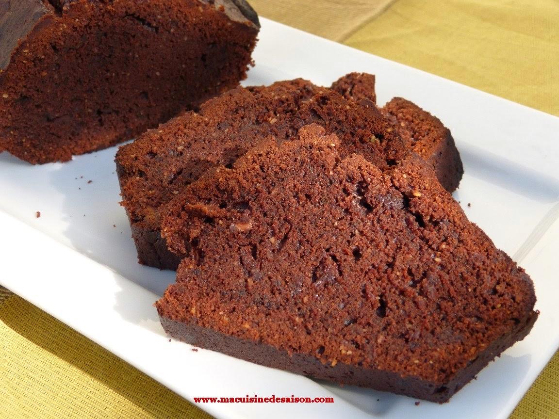 Cake au chocolat de Jean-Paul Hévin