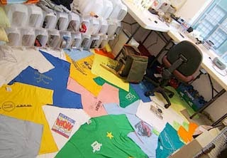 Tapeçaria colorida para quartos