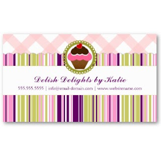 Home Bakery Business Cards