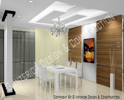3d drawing interior design for Dining hall interior