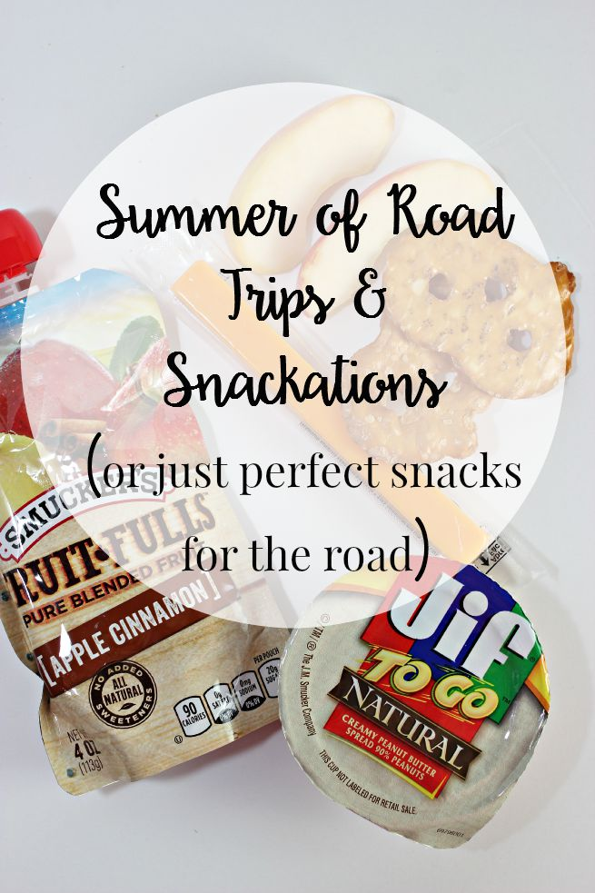 Summer of Road Trips and Snackations (or just perfect snacks for the road)