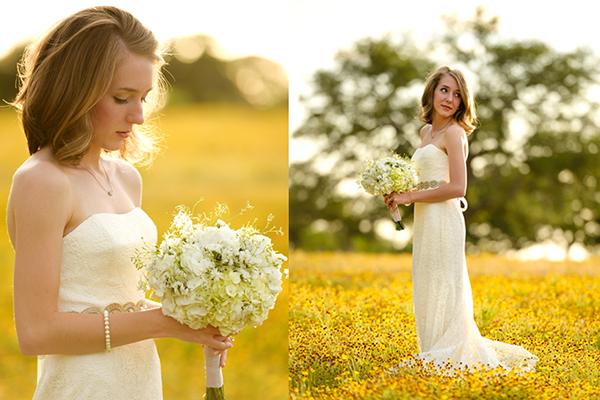 La naturalidad es el éxito de esta novia, sin artificios ni complementos