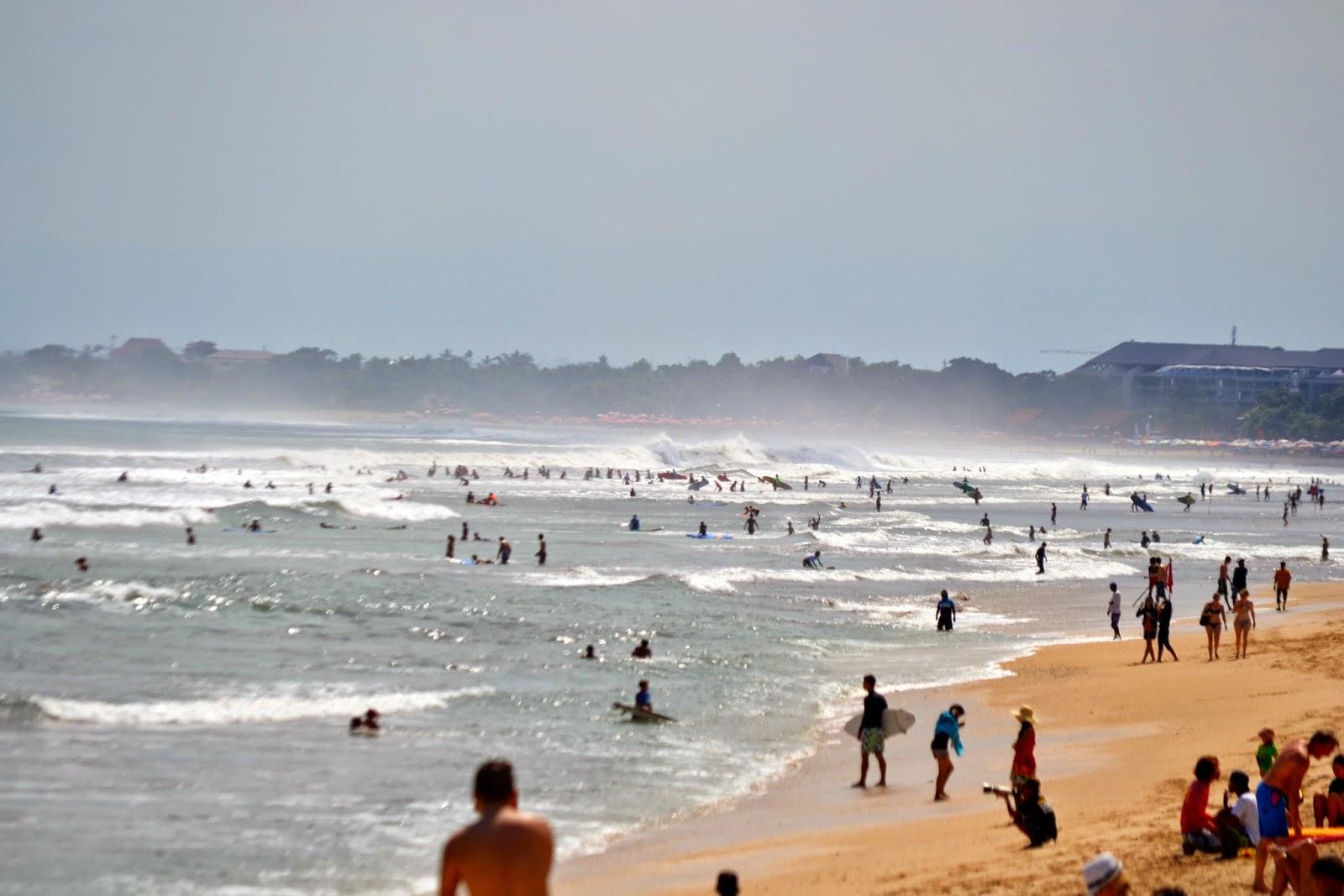 playa de Kuta, Bali, Indonesia