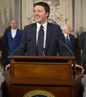 Renzi became Italy's youngest Prime Minister when he was elected in 2014