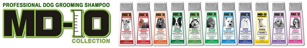 MD10 Top Quality Dog Grooming Shampoo and Conditioner