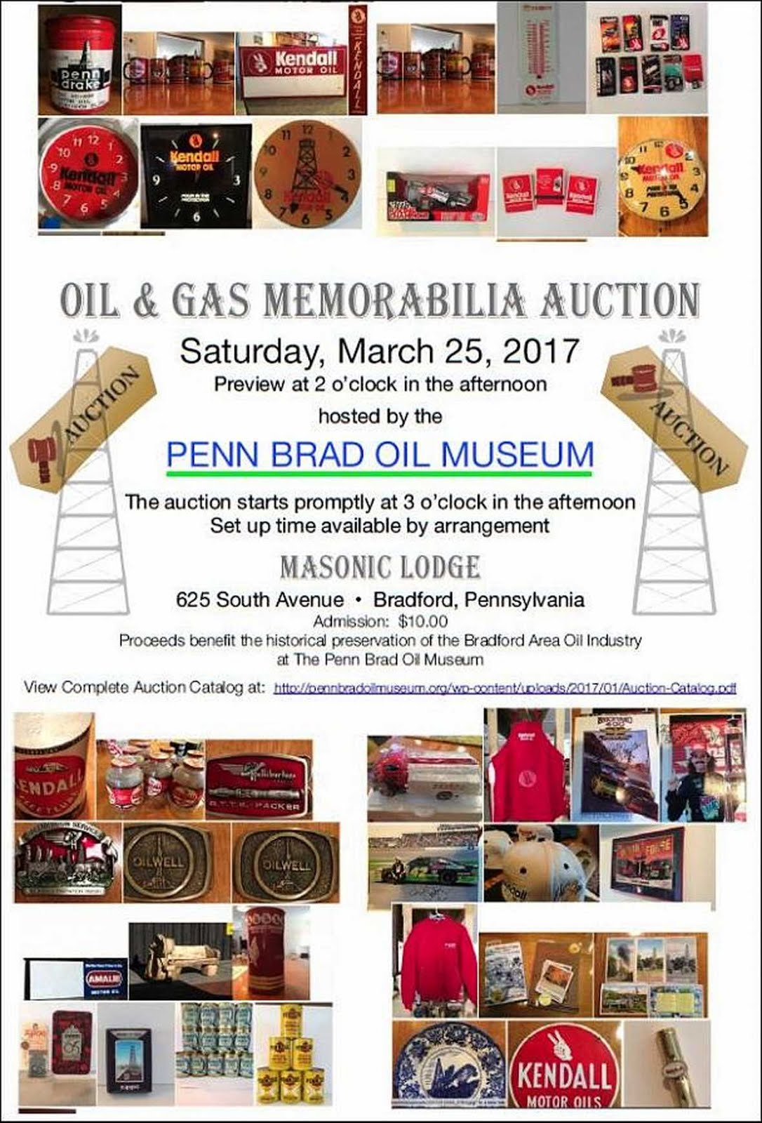 Brad Penn Memorabilia Auction