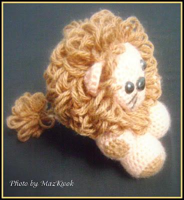 Lion amigurumi