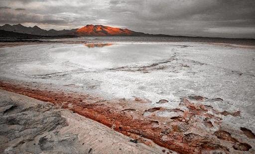 На берегу озера Урмия