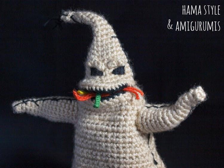 Marta Ruso Crochet Creativo: Oogie Boogie Amigurumi - Patrón [GRATIS]