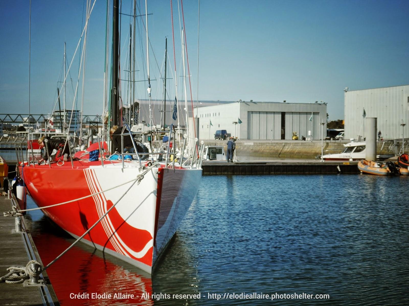 Jolokia à quai à Lorient.