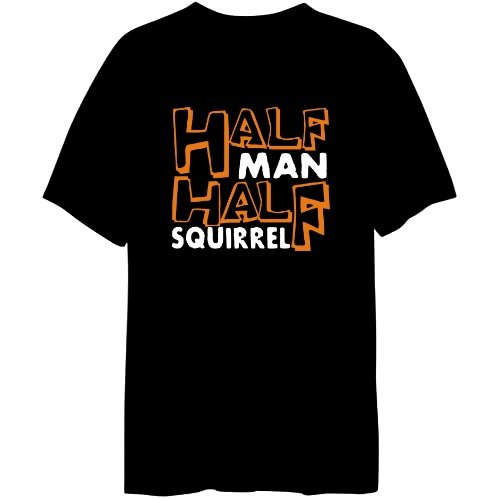 half man, half squirrel shirt
