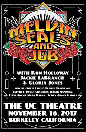 11/18 : Melvin Seals & JGB w/ special guests Lebo & Friends