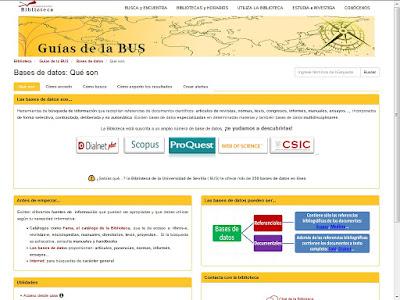http://guiasbus.us.es/basededatos/queson