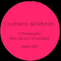 1º Aniversario del Reto de Cocineros del Mundo