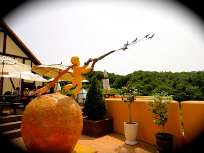 Little Prince at Petite France in Gapyeong South Korea