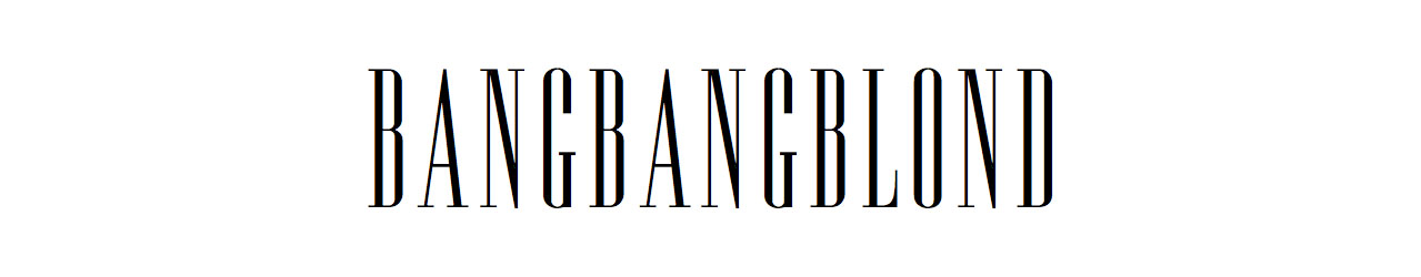 Bangbangblond |Blog mode Suisse - Swiss Fashion blog by Alison Liaudat