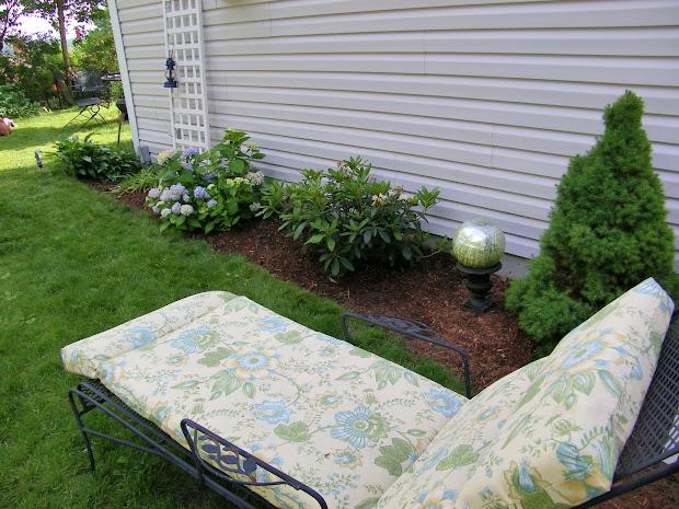 maison decor ugly yard area