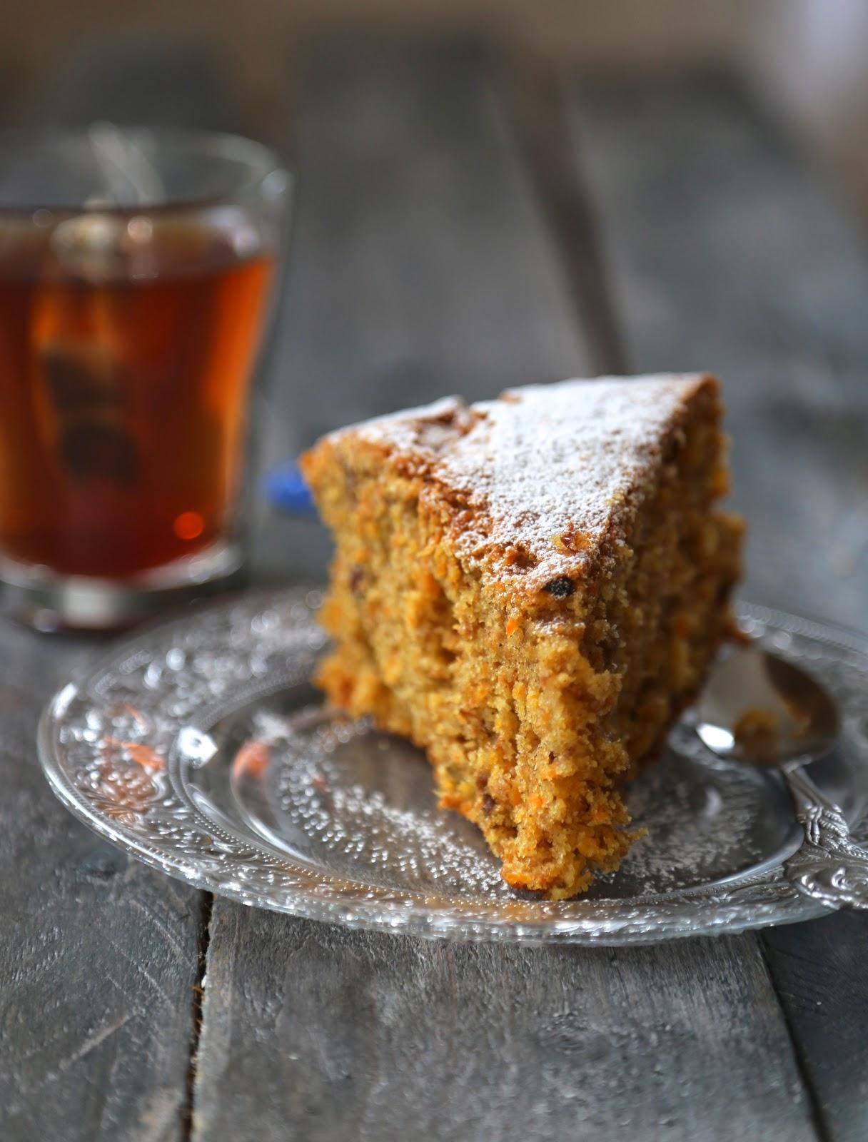 Carrot Cake moelleux , parfumé  comme à Londres