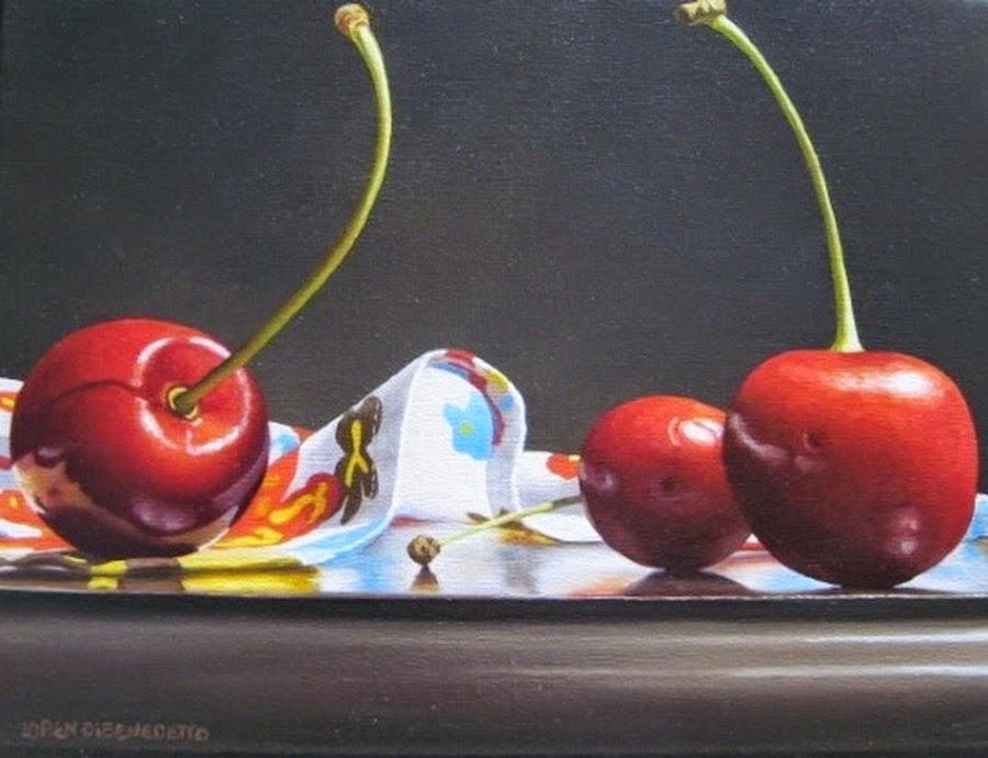 cuadros-bodegones-con-cerezas