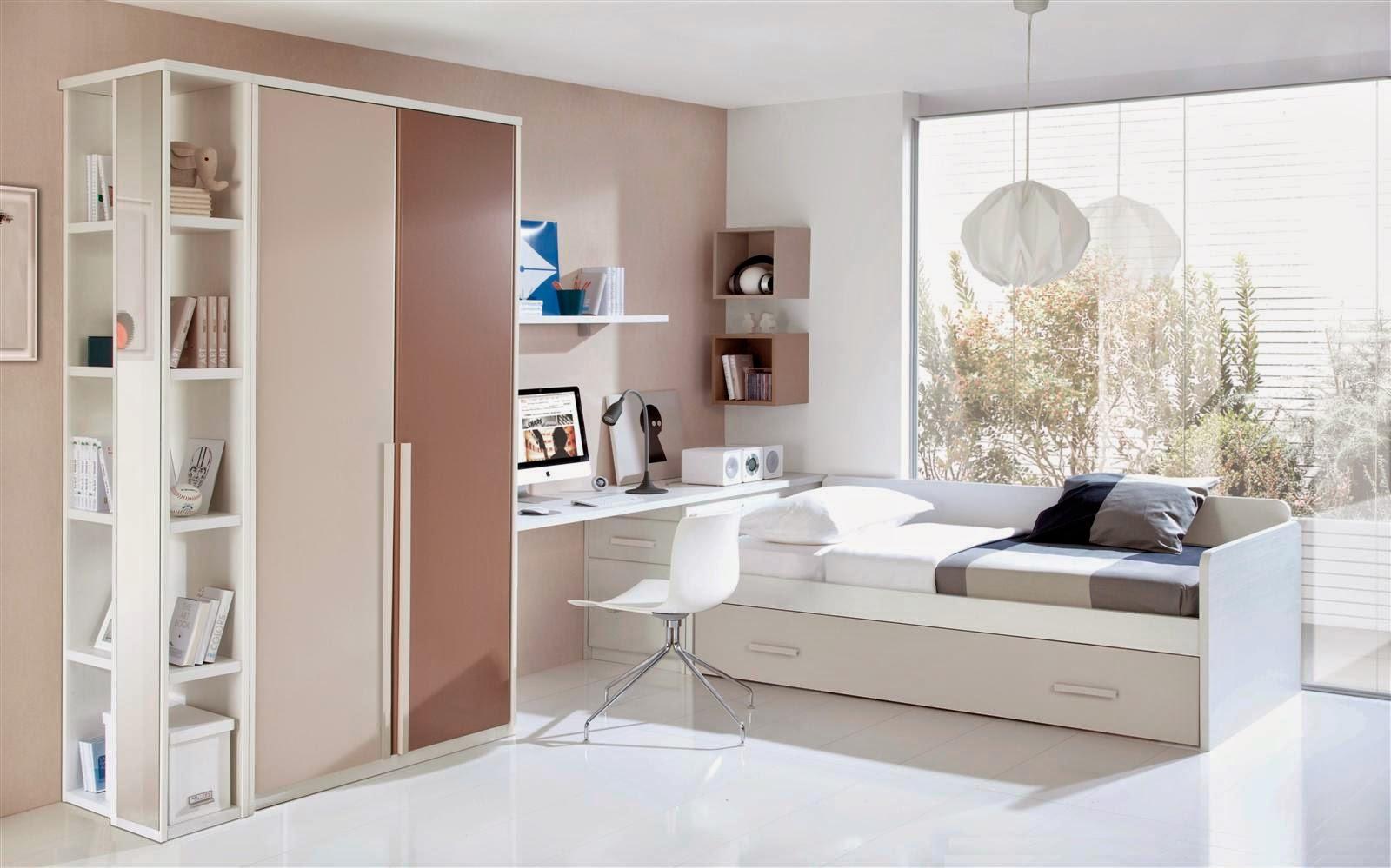 Dormitorios juveniles i elegir una cama compacta for Mueble que se hace cama