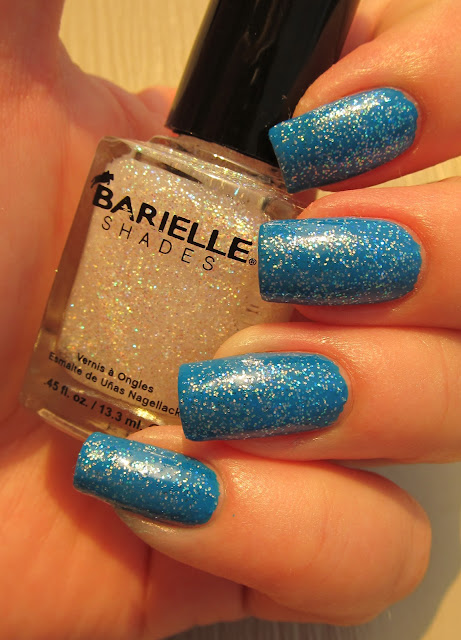 Barielle Surf's Up with Stardust top coat