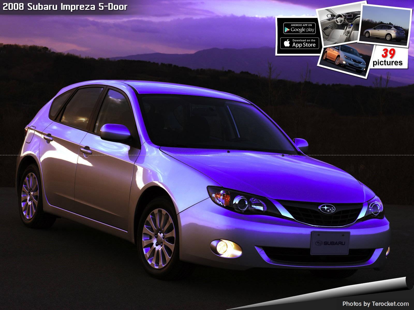 Hình ảnh xe ô tô Subaru Impreza 5-Door 2008 & nội ngoại thất
