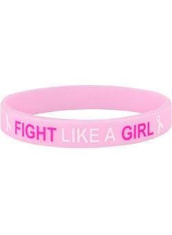 Fight Like a Girl Wrist Band