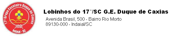 Alcatéia 17°/SC G.E. Duque de Caxias