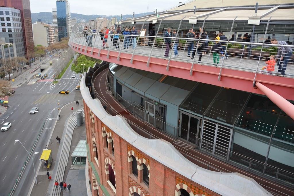 Arenas de Barcelona roof