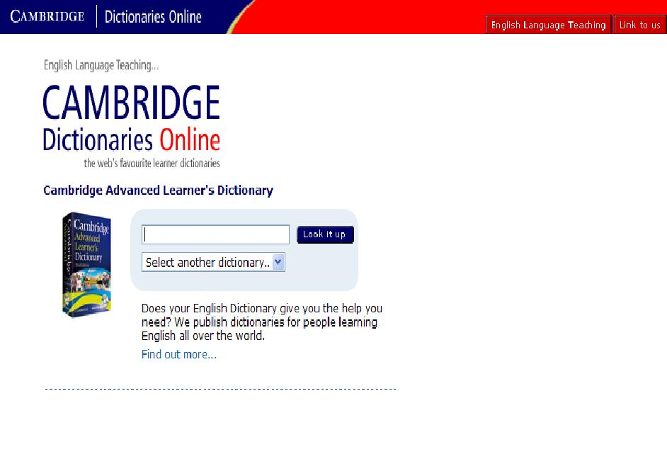Online dating cambridge dictionary
