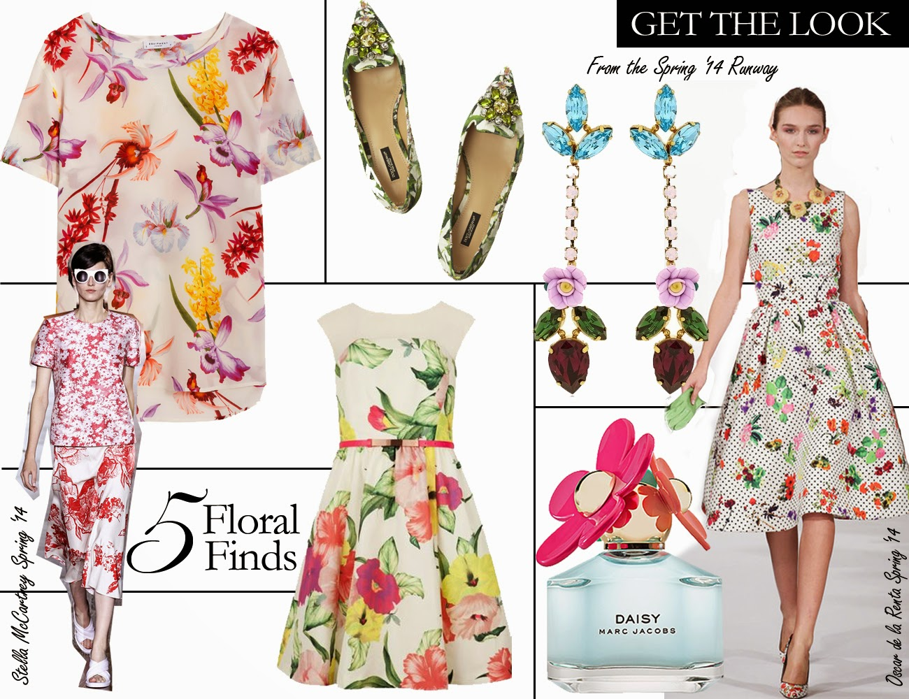 Get the Look: 5 Floral Finds