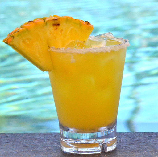 Fresh Pineapple Margaritas | Great Recipe Ideas