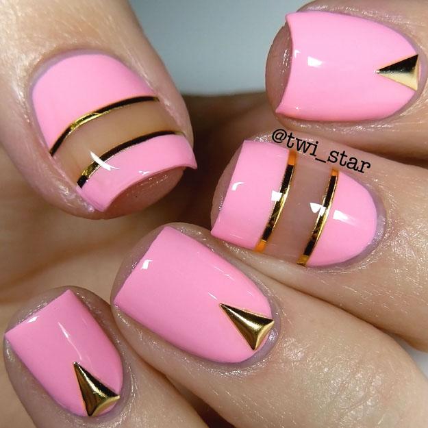 Born Pretty Store Isosceles Triangle Stud Item #16677 Review