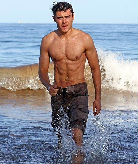 All Top Hollywood StarsZac Efron Body 2012