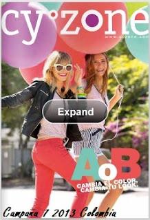 catalogo cyzone campaña 7 co 2013