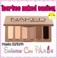 Sorteo Naked Basics